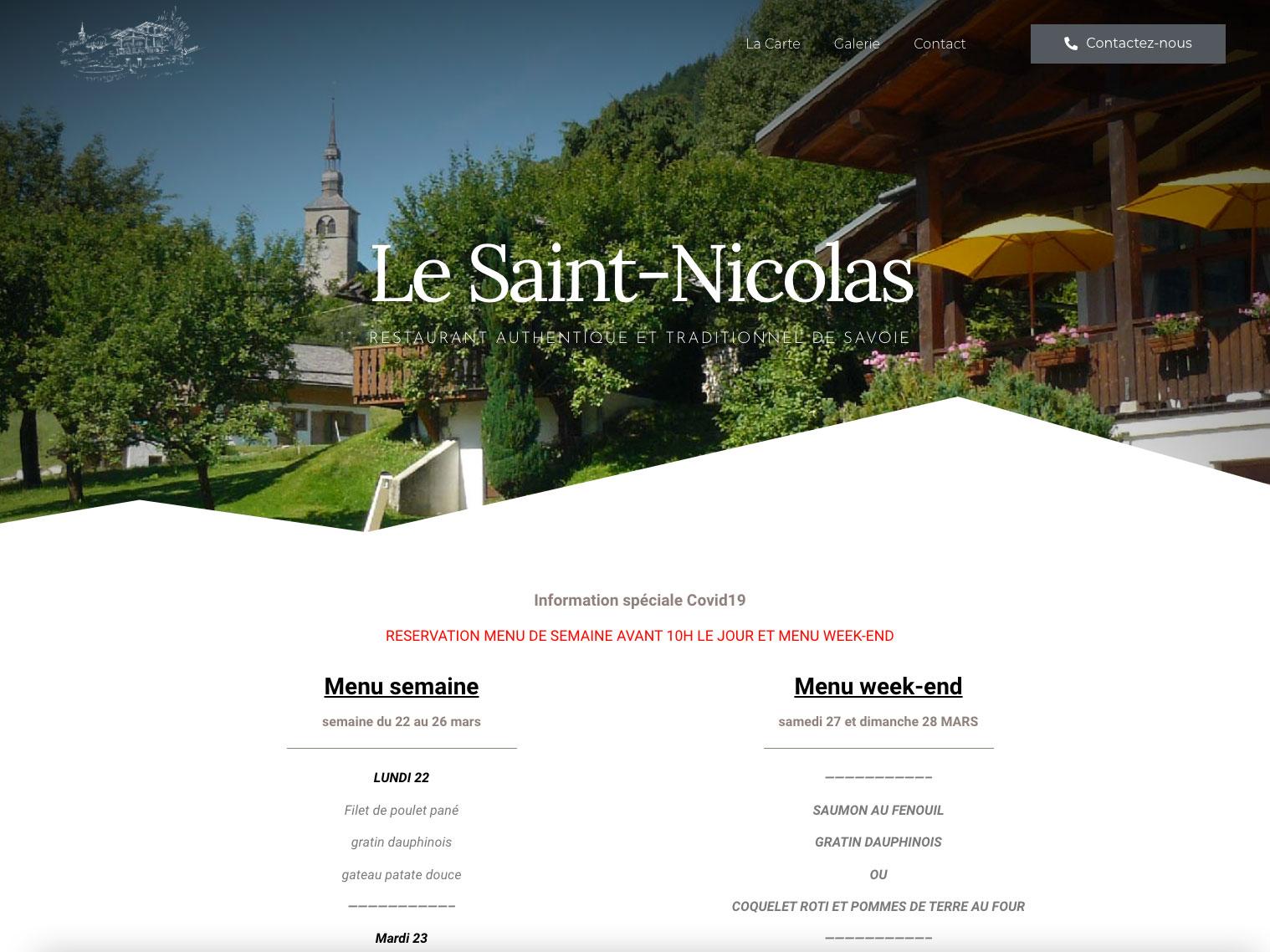 Restaurant Le Saint Nicolas - Montrez qui vous êtes avec Grrrr