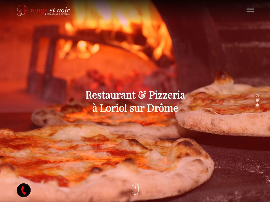 Le Rouge et Noir Restaurant et Pizzeria Loriol-sur-Drôme