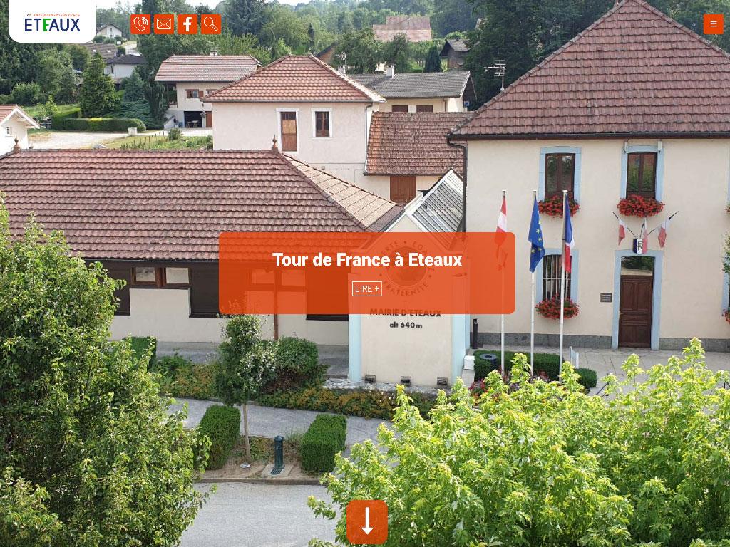 Mairie Éteaux Haute-Savoie Pays Rochois