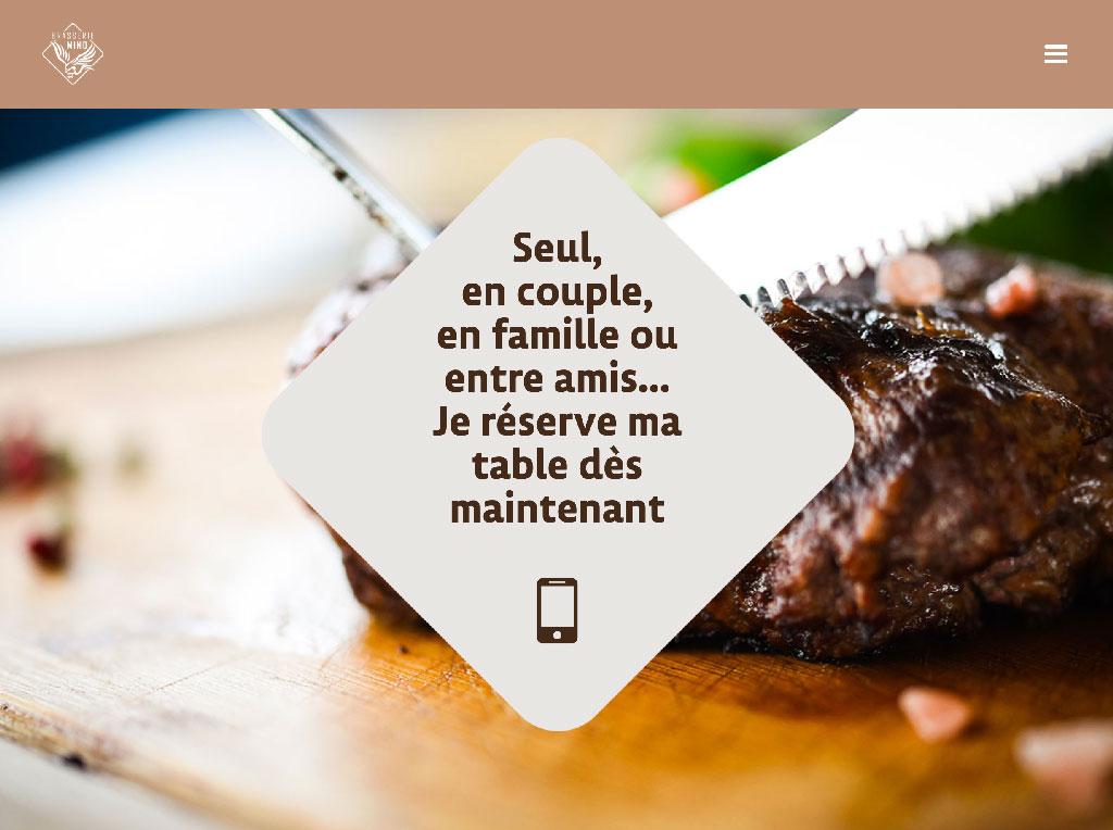 Sylvain et son équipe vous accueillent à la Brasserie Mino sur la place de l'Hôtel de Ville de La Roche sur Foron