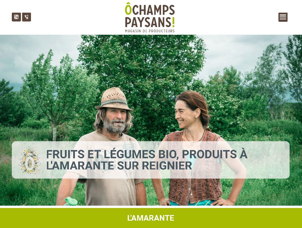 Ô Champs Paysans, magasin de producteurs à Collonges-sur-Salève - montrez qui vous êtes avec grrrrr.fr